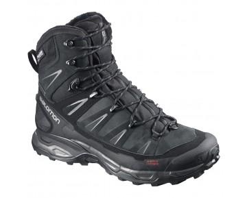 Chaussure Salomon X ULTRA WINTER CS WP pour Homme Noir/Argent 376635