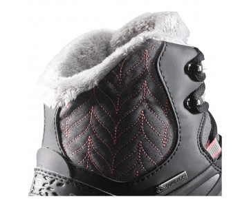 Chaussure Salomon KAÏNA MID GTX® pour Femme Noir/Rose 376851