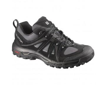 Chaussure Salomon EVASION AERO pour Homme Noir/Argent/Gris Chaussures De Randonnée 376883