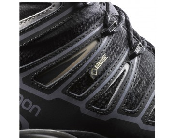 Chaussure Salomon X ULTRA MID 2 SPIKES GTX® pour Homme Noir/Argent 377820