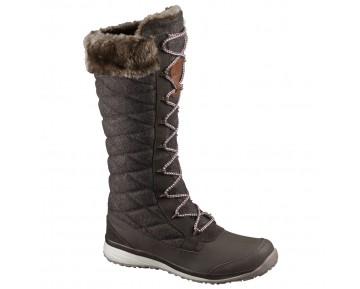 Chaussure Salomon HIME HIGH pour Femme Marron 378422