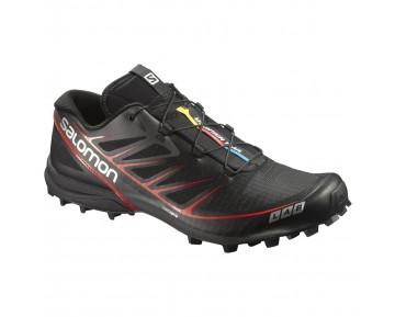 Chaussure Salomon S-LAB SPEED pour Homme Noir/Rouge Chaussures De Running 378456_01