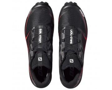 Chaussure Salomon S-LAB SPEED pour Femme Noir/Rouge Chaussures De Running 378456_02