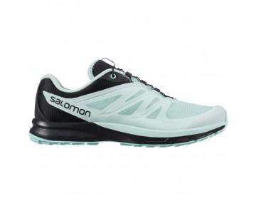 Chaussure Salomon SENSE PRO 2 W pour Femme Cyan-clair/Noir Chaussures De Running 379051