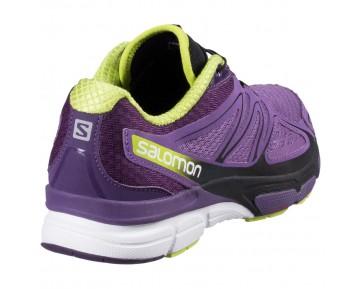 Chaussure Salomon X-SCREAM 3D W pour Femme Violet/Noir Chaussures De Running 379067