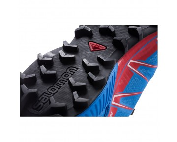 Chaussure Salomon SPEEDCROSS PRO pour Homme Rouge/Bleu Chaussures De Running 379095