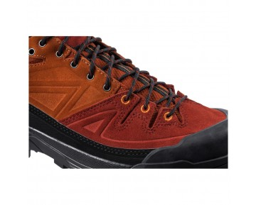 Chaussure Salomon X ALP LTR pour Homme Noir/Orange Chaussures D'alpinisme 379261