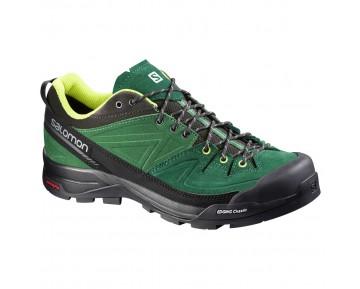 Chaussure Salomon X ALP LTR pour Homme Noir/Sarcelle/Vert-jaunâtre Chaussures D'alpinisme 379269