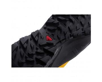 Chaussure Salomon X ALP MTN GTX® pour Homme Noir/Jaune Chaussures D'alpinisme 379273