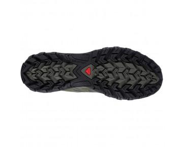 Chaussure Salomon EVASION AERO pour Homme Noir/Vert-foncé Chaussures De Randonnée 379308