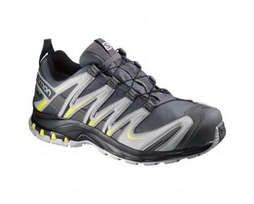 Chaussure Salomon XA PRO 3D GTX® pour Homme Autobahn / Aluminum / Corona Jaune Chaussures De Running 379315