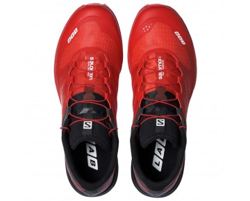 Chaussure Salomon S-LAB SENSE 5 ULTRA SG pour Homme Rouge/Noir Chaussures De Running 379457_01