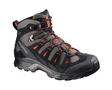 Chaussure Salomon QUEST PRIME GTX® pour Homme Noir/Gris/Oranger Chaussures De Randonnée 380885