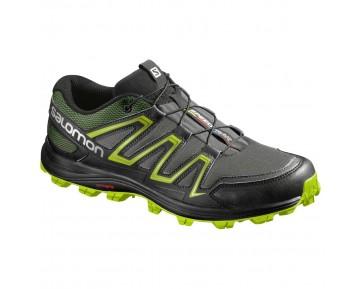 Chaussure Salomon SPEEDTRAK pour Homme Gris/Noir Chaussures De Running 381157