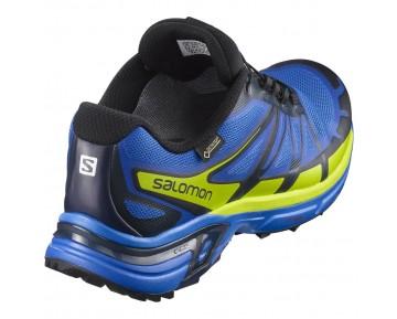 Chaussure Salomon WINGS PRO 2 GTX® pour Homme  Jaune/Bleu Chaussures De Running 381215