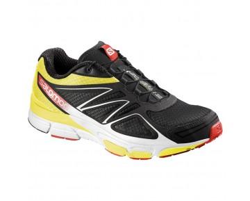 Chaussure Salomon X-SCREAM 3D pour Homme Blanc/Noir/Jaune Chaussures De Running 381545