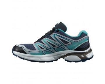 Chaussure Salomon WINGS FLYTE 2 W pour Femme Marine/Foncé-Turquoise Chaussures De Running 381581