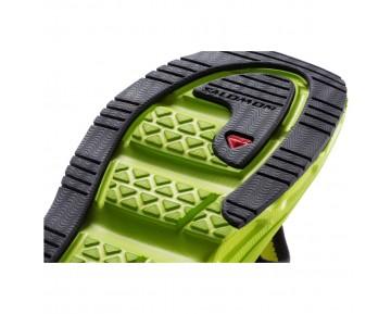 Chaussure Salomon RX BREAK pour Homme Vert-jaunâtre/Noir Chaussures De Running 381608