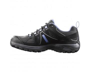 Chaussure Salomon ELLIPSE 2 GTX® W pour Femme Noir/Gris/Dodger-Bleu Chaussures De Randonnée 381629