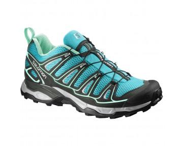 Chaussure Salomon X ULTRA 2 W pour Femme Turquoise/Noir Chaussures De Randonnée 381635