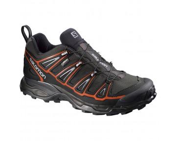 Chaussure Salomon X ULTRA 2 GTX® pour Homme Noir/Argent/Orange Chaussures De Randonnée 381637
