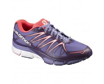 Chaussure Salomon X-SCREAM FOIL W pour Femme Violet/Orange Chaussures De Running 383070