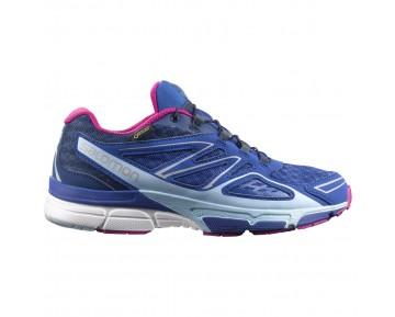 Chaussure Salomon X-SCREAM 3D GTX® W pour Femme Bleu/Cyan Chaussures De Running 383079