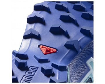 Chaussure Salomon SPEEDCROSS 4 GTX® W pour Femme Bleu-Vert/Bleu-foncé Chaussures De Running 383082