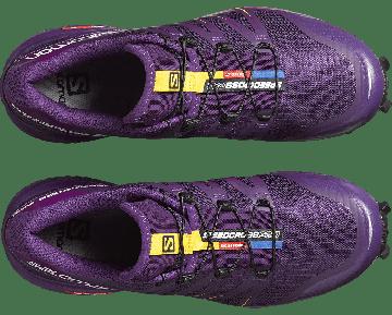 Chaussure Salomon SPEEDCROSS PRO W pour Femme Violet Chaussures De Running 383090