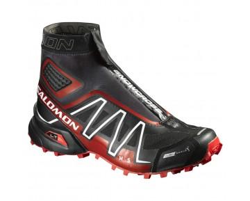 Chaussure Salomon SNOWCROSS CS pour Homme Noir/Rouge Chaussures De Running 390135_01