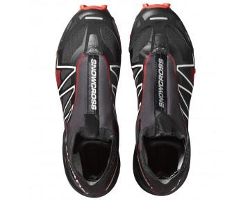 Chaussure Salomon SNOWCROSS CS pour Femme Noir/Rouge Chaussures De Running 390135_02