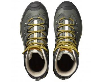 Chaussure Salomon QUEST ORIGINS 2 GTX® pour Homme Gris/Jaune/Noir Chaussures De Randonnée 390271