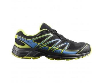 Chaussure Salomon WINGS FLYTE 2 GTX® pour Homme Noir/Jaune Chaussures De Running 390301