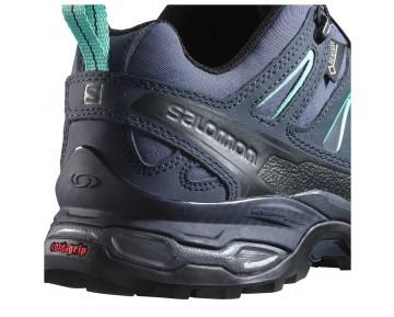 Chaussure Salomon X ULTRA LTR GTX® W pour Femme Noir/Bleu-Acier Chaussures De Randonnée 390403