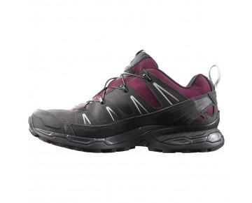Chaussure Salomon X ULTRA LTR W pour Femme Noir/Bordeaux Chaussures De Randonnée 390411
