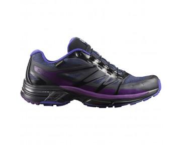 Chaussure Salomon WINGS PRO 2 GTX® W pour Femme Violet/Noir/Marine Chaussures De Running 390609