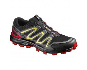 Chaussure Salomon SPEEDTRAK pour Homme Noir Chaussures De Running 390624