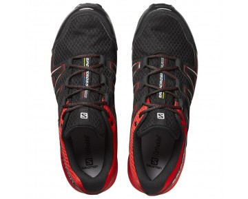 Chaussure Salomon SPEEDCROSS VARIO GTX® pour Homme Rouge/Noir Chaussures De Running 390687