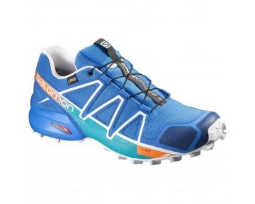 Chaussure Salomon SPEEDCROSS 4 GTX® pour Homme Bleu Chaussures De Running 390722