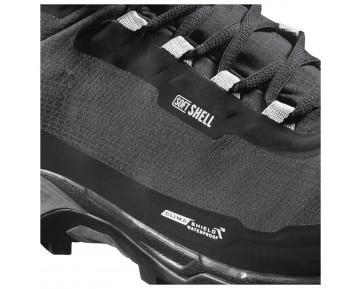 Chaussure Salomon SHELTER SPIKES CS WP pour Homme Noir 390728