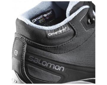 Chaussure Salomon SHELTER SPIKES CS WP W pour Femme Noir 390729