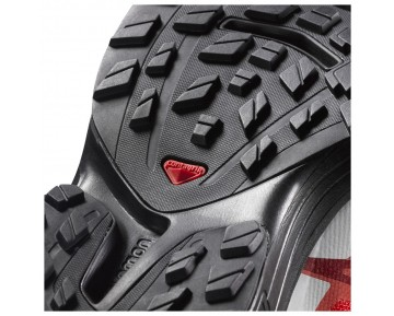 Chaussure Salomon S-LAB WINGS 8 pour Femme Noir/Rouge/Blanc Chaussures De Running 391215_02