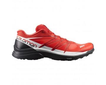 Chaussure Salomon S-LAB WINGS 8 pour Homme Noir/Rouge/Blanc Chaussures De Running 391215_01