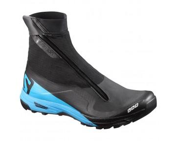 Chaussure Salomon S-LAB XA ALPINE pour Homme Noir/Bleu Chaussures De Running 391216_01