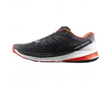 Chaussure Salomon SENSE PROPULSE pour Homme Anthracite/Blanc/Rouge Chaussures De Running 391818