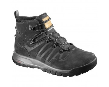 Chaussure Salomon UTILITY TS CSWP pour Homme Anthracite 391827