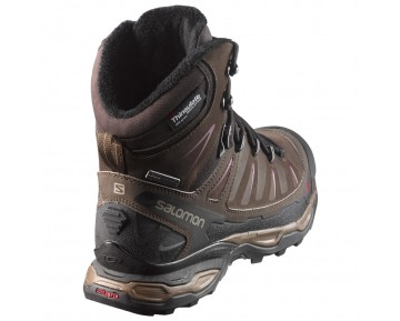 Chaussure Salomon X ULTRA WINTER CS WP W pour Femme Marron 391833