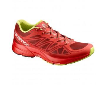 Chaussure Salomon SONIC AERO pour Homme Rouge/Bordeaux Chaussures De Running 391864